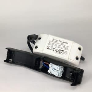 Downlighter Spot IP44 9W 38° 2700K driver