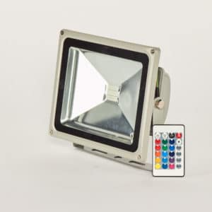 Floodlight 30W RGB voor