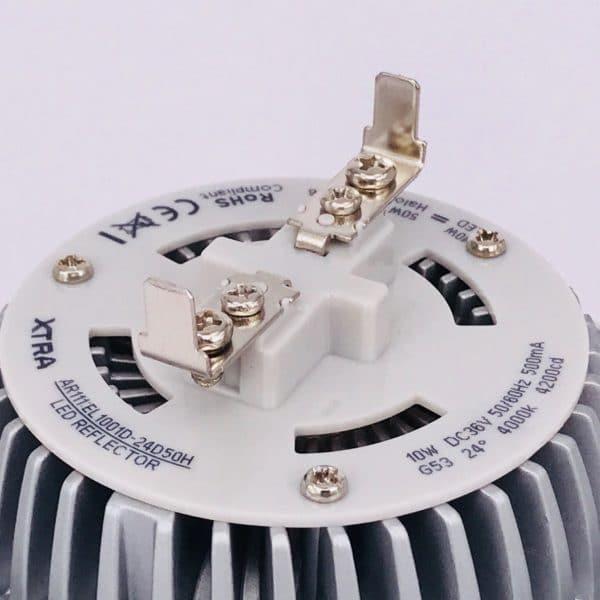 AR111 10W 4000K dimbaar Detail
