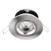 Downlighter 8W 1800-3000K dimbaar Nikkel