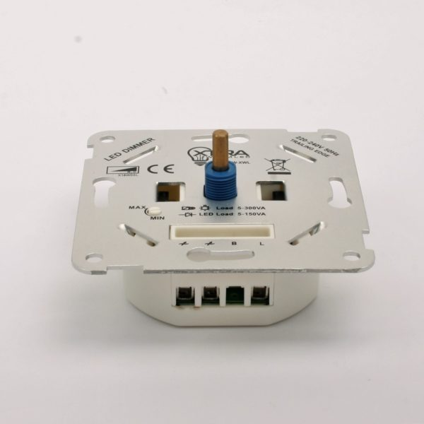 LED dimmer 5-150W zijkant
