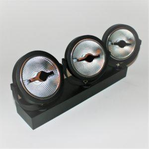Triple AR111 LED Spot 45W 2200-2800K