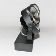 Triple AR111 LED Spot 45W 2200-2800K zijkant