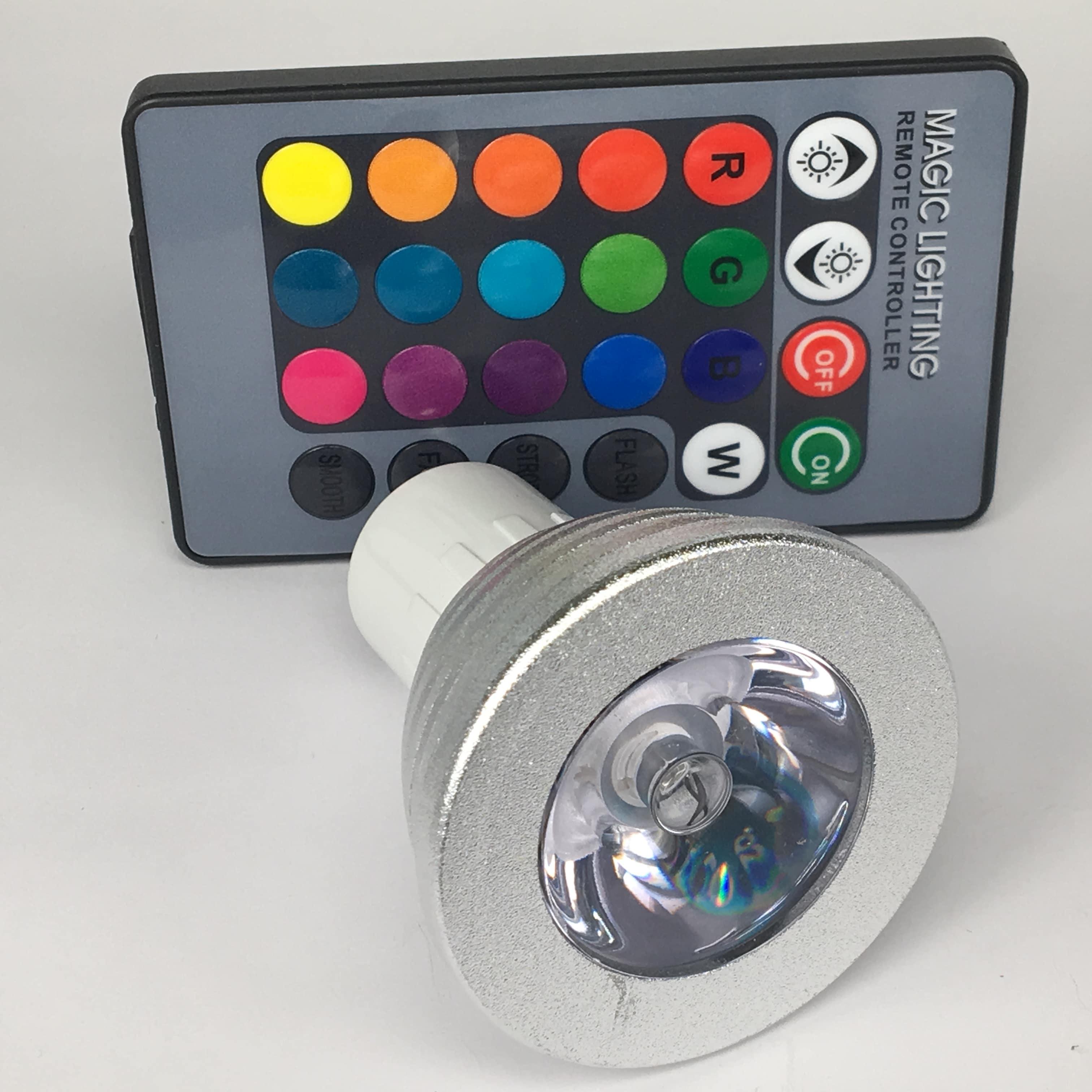 GU10 3W dimbaar RGB voor