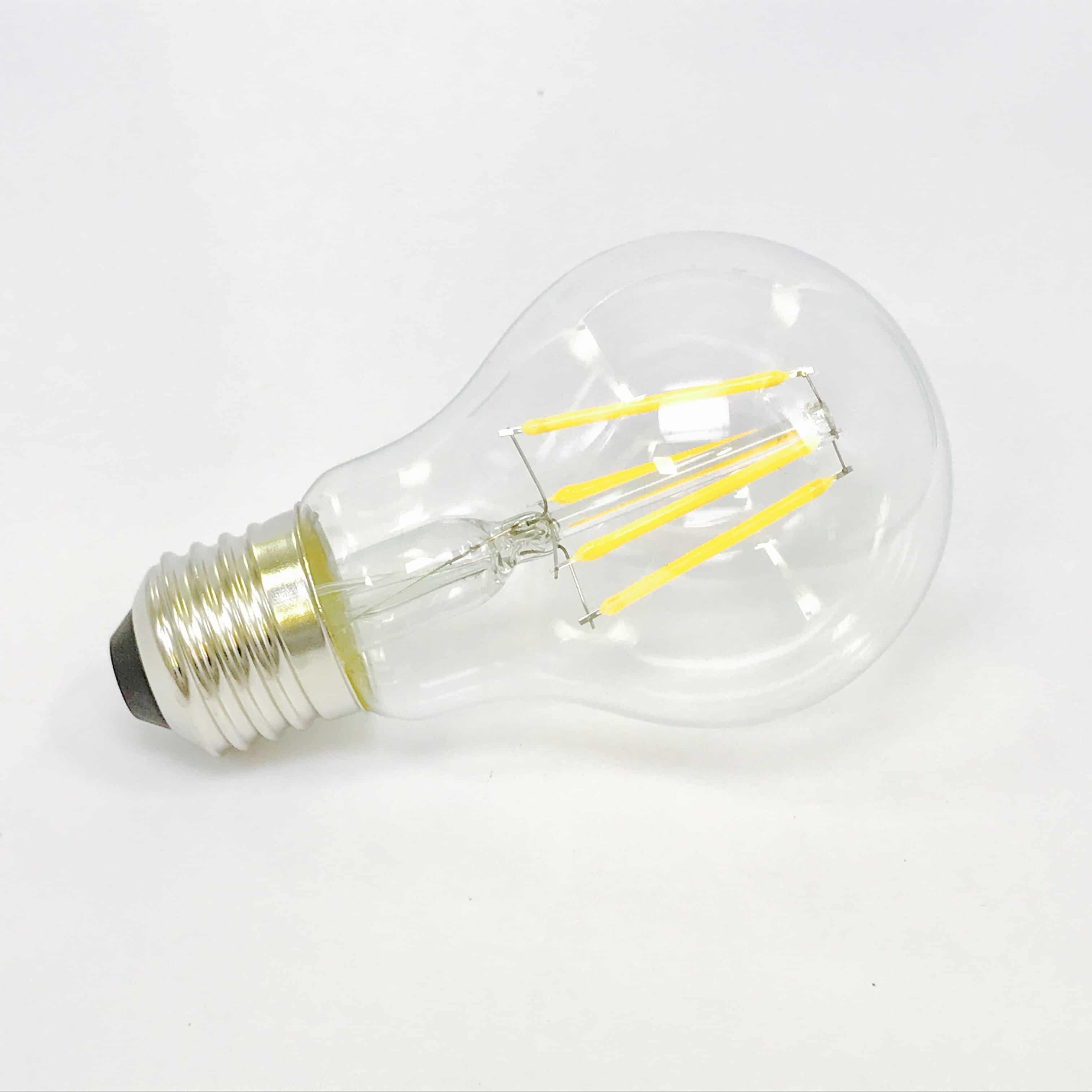 A60 E27 4W filament 2700K
