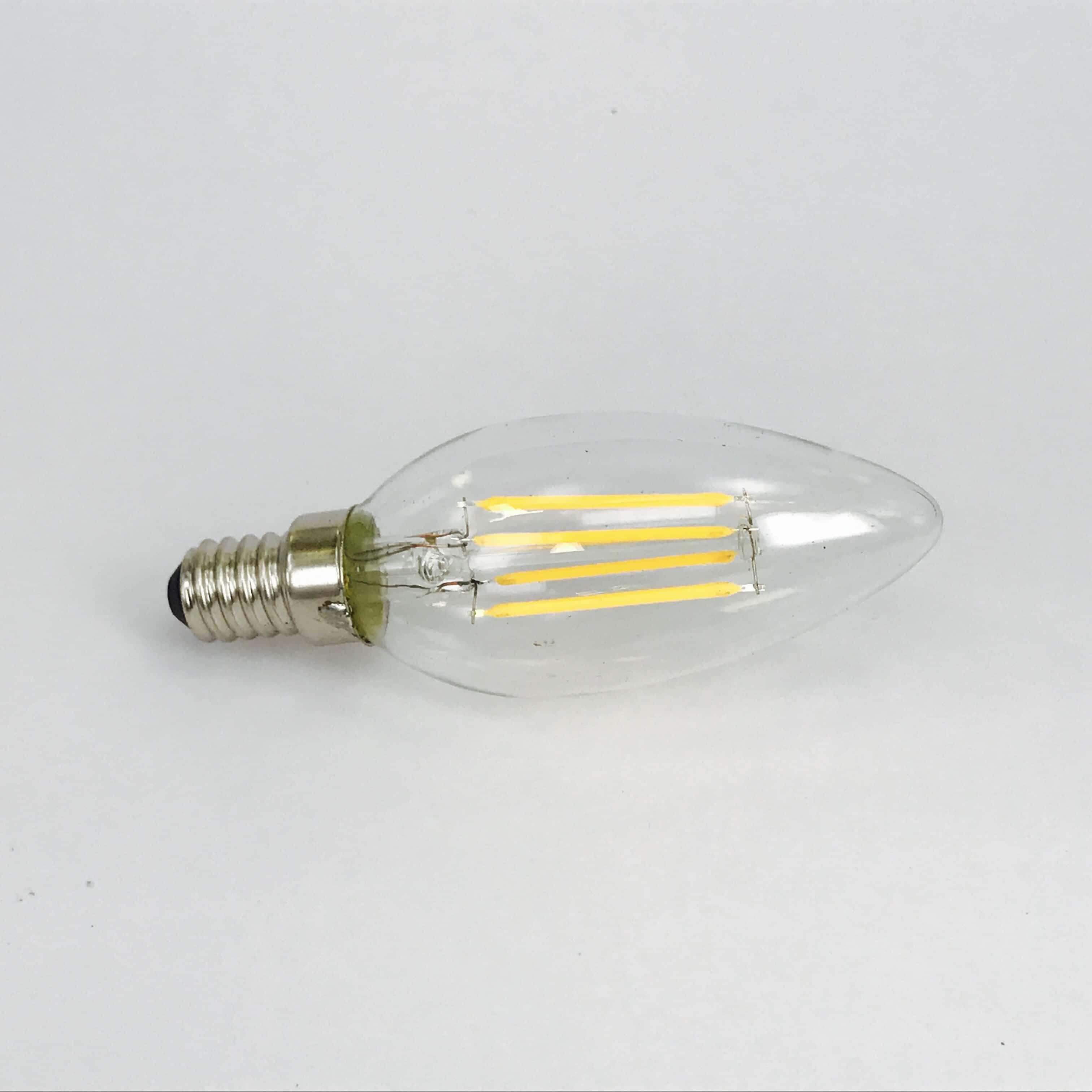 C35 E27 4W filament 2700K