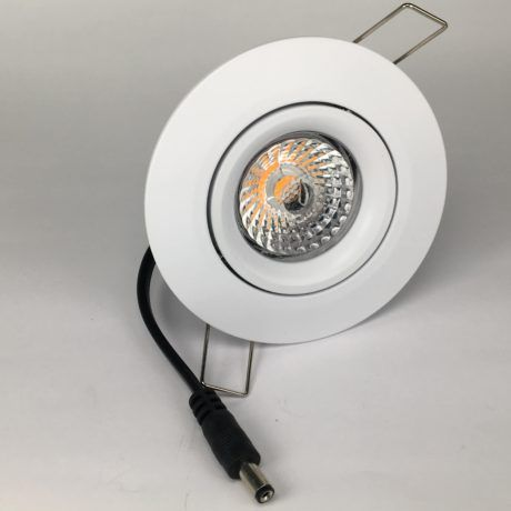 Downlighter Spot IP44 13W 38° dimbaar 2000-2800K wit voor