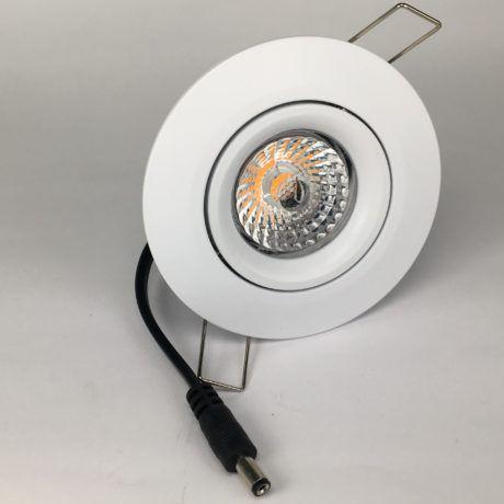 Downlighter Spot IP44 8W 38° dimbaar 2000-2800K wit voor