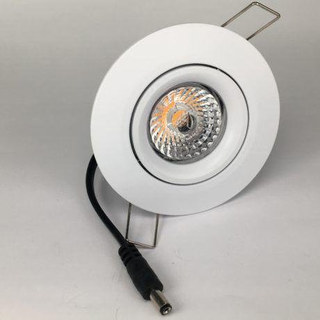 Downlighter Spot IP44 9W 38° dimbaar 2700K wit voor