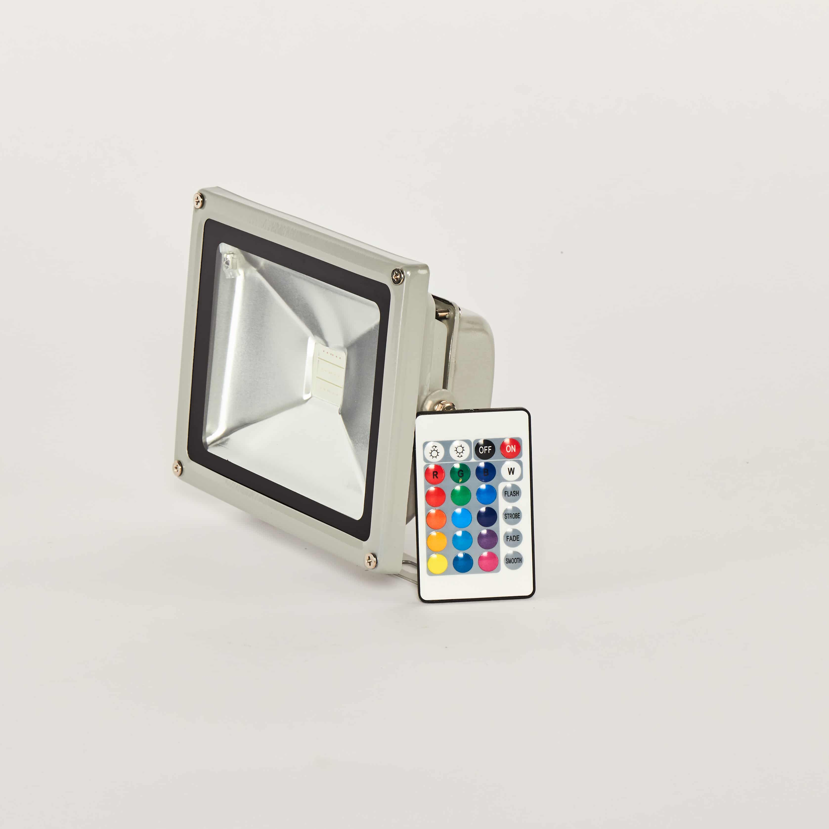 Floodlight 20W RGB voor