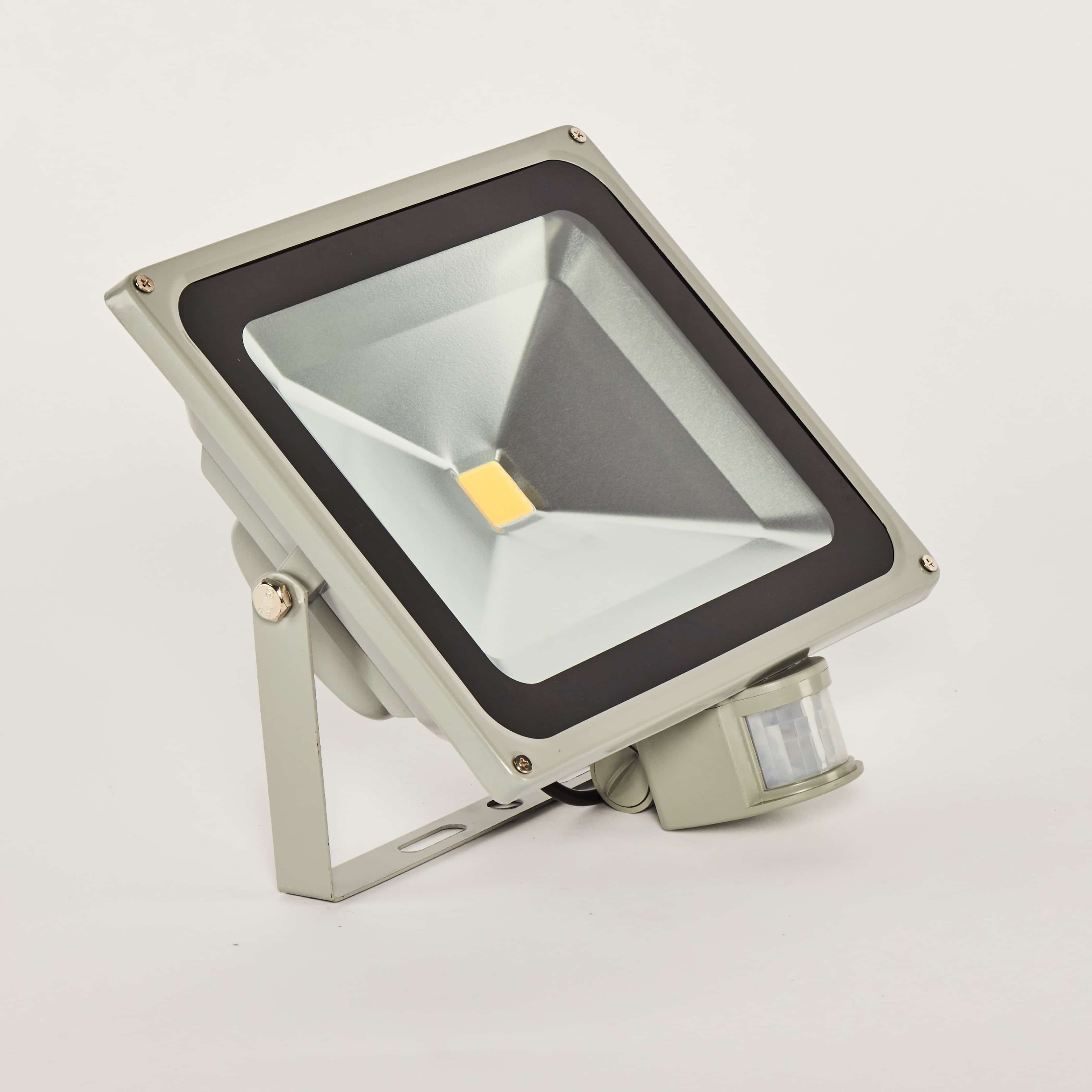Floodlight 50W sensor 4000K voor