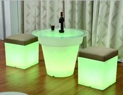 Cube 50x50cm oplaadbaar groen