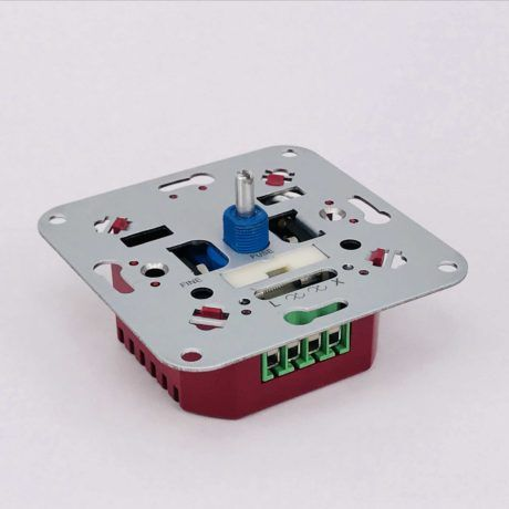 LED dimmer 5-450W universeel zijkant