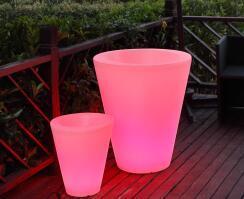 Drankkoeler of wijnkoeler oplaadbaar RGBW LED