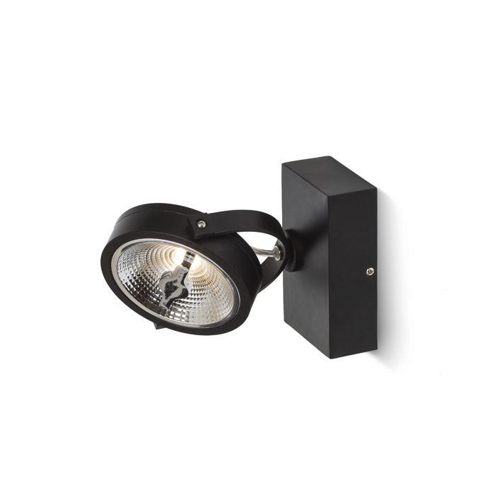 AR111 LED spot 15W 2200-2800K zwart