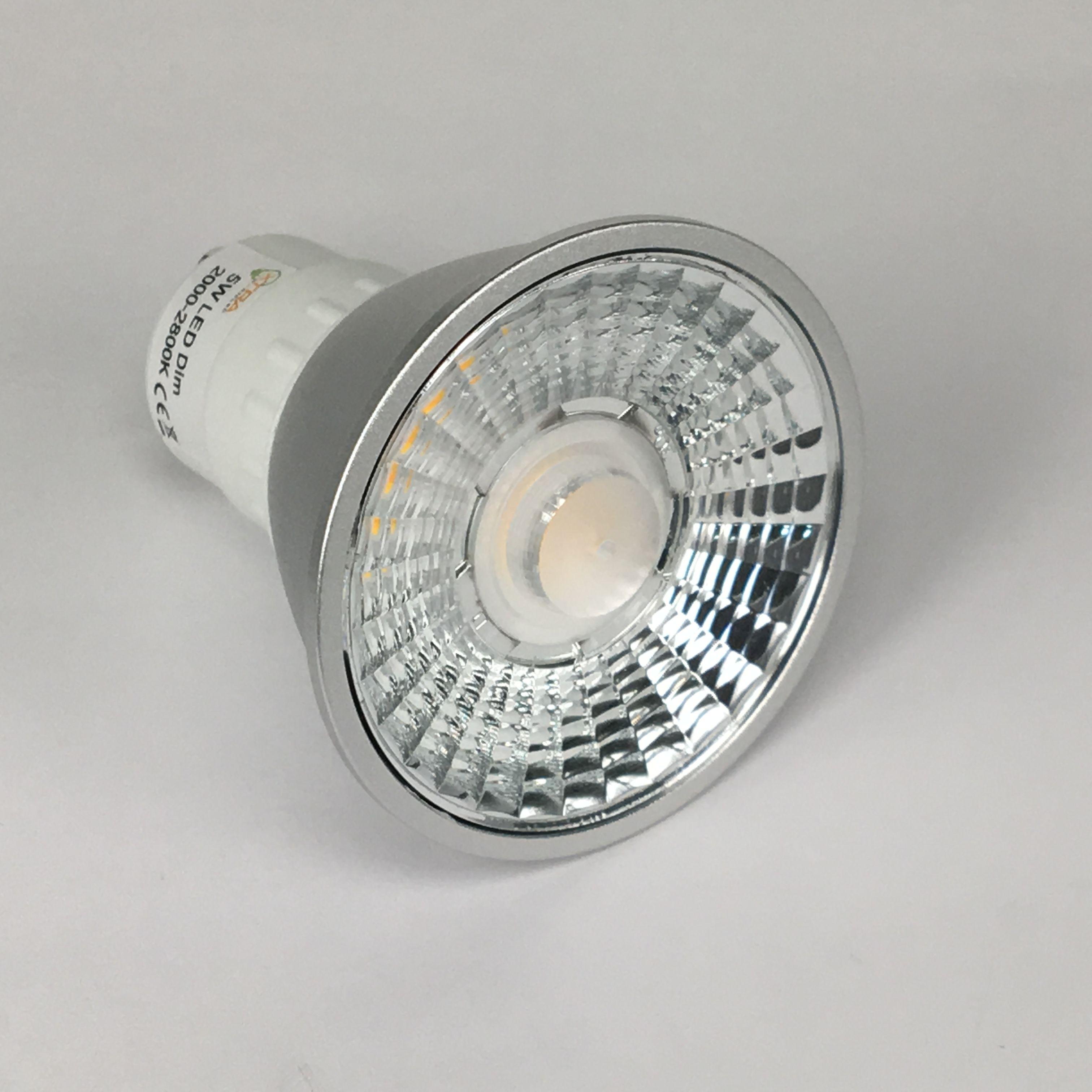 GU10 5W 2000-2800K Prolight CRI90 DIMBAAR voor