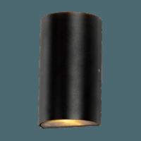 Buitenlamp 2xGU10 up&down rond antraciet