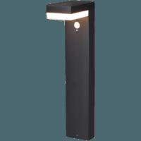 Lantaarn Solar 6W 2700K vierkant met bewegingsmelder 2