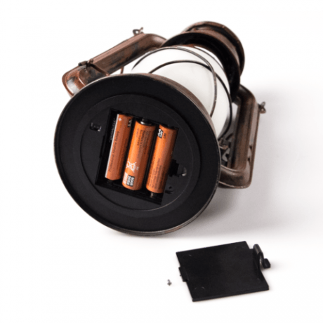 Olielamp 24cm LED 2200K batterij