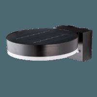 Wandlamp Solar 6W 2700K rond zwart met bewegingsmelder 2