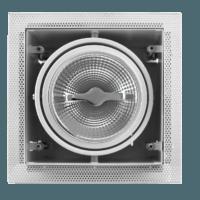 AR111 inbouwarmatuur wit Voorkant