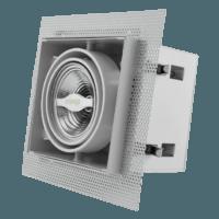 AR70 inbouwarmatuur wit