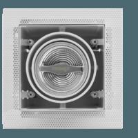 AR70 inbouwarmatuur wit Voorkant