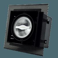 AR70 inbouwarmatuur zwart