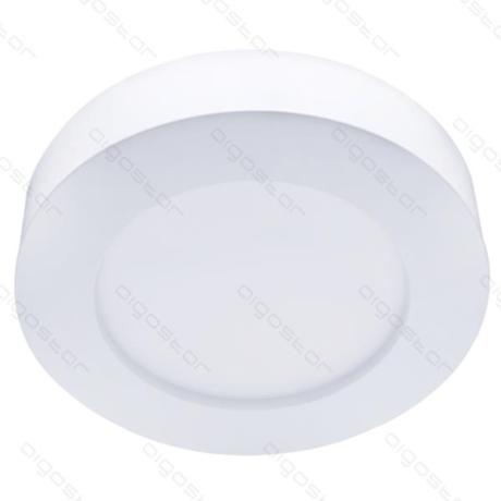 Plafondlamp 12W 3000K wit