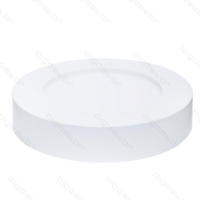 Plafondlamp 12W 3000K wit zijkant