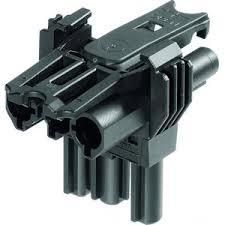 Wieland T-splitter 18I3 zwart