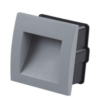 Marker light 1W 3000K grijs