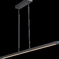 HL Real 3 black nikkel 160cm 2 pushdim 2977-81-S-2XP-DW