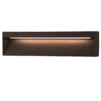 Wandlamp 200x90x36mm 6 watt antraciet