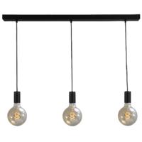 Hanglamp Tessi 3 x E27 Zwart