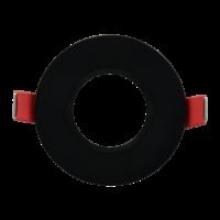 Inbouwspot 84mm zwart
