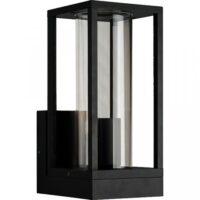 Wandlamp E27 Glas koker