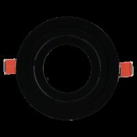 AR70 inbouwring zwart